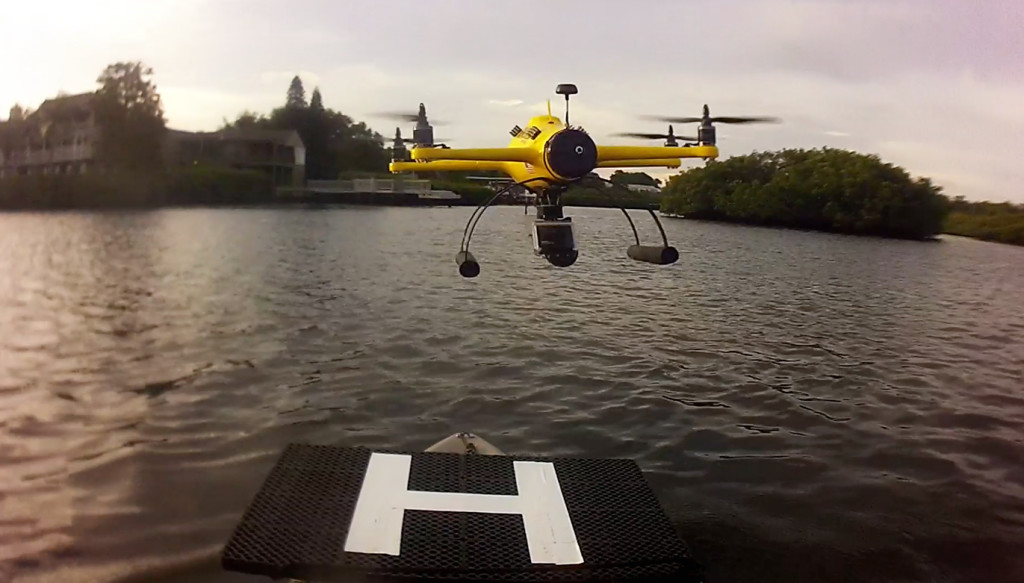 waterproof drone