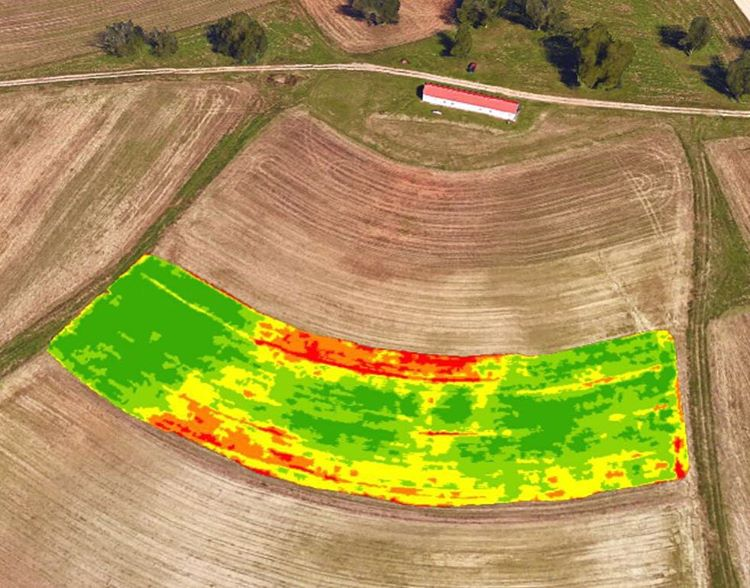 agriculture software drone