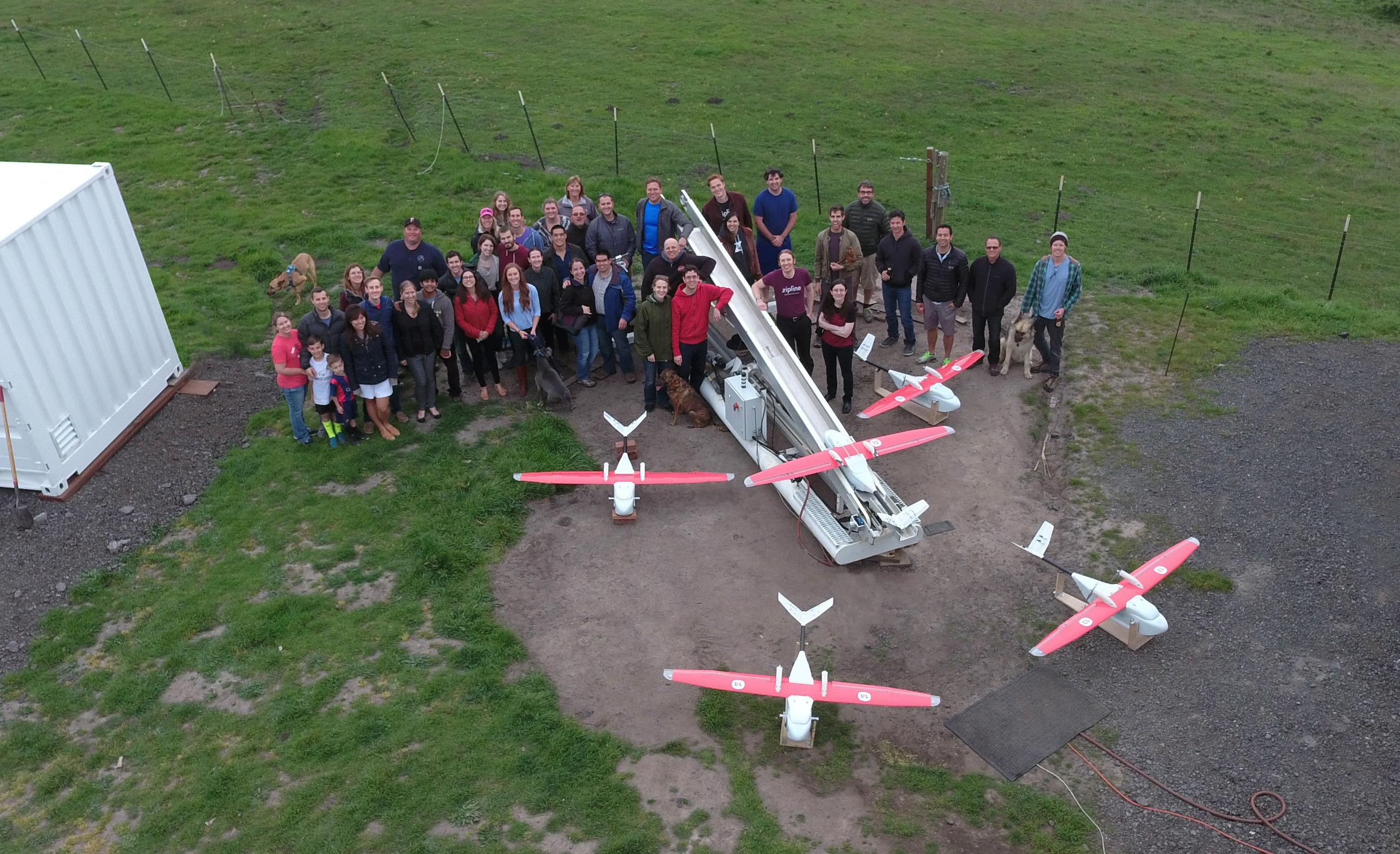 drones in rwanda