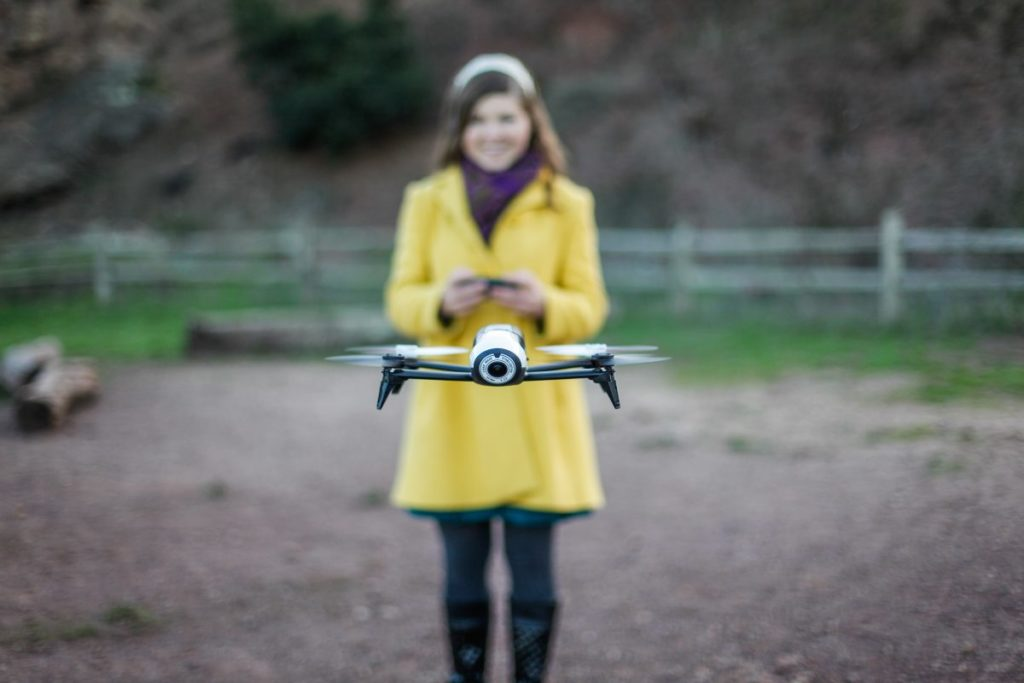 Drone Girl Sally French