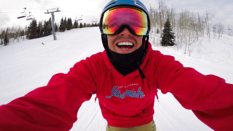 GoPro Karma Snowboarding