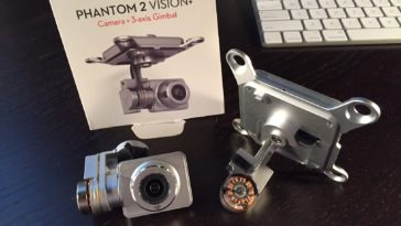 Phantom 2 Vision+ Camera and Gimbal Parts