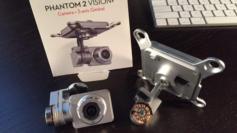Phantom 2 Vision+ Camera and Gimbal Parts