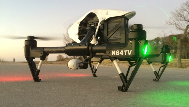 tv station drones